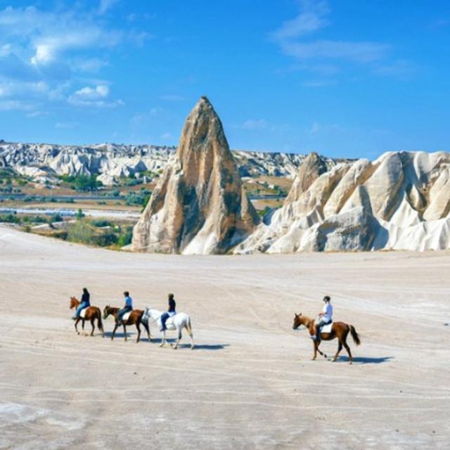 Horse Riding in the Valleys of Cappadocia