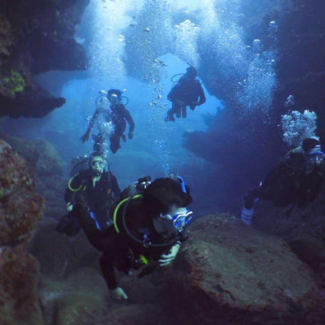 Scuba Dive a Lava Tube
