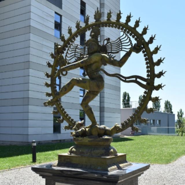 Nataraj Statue The CERN Shiva