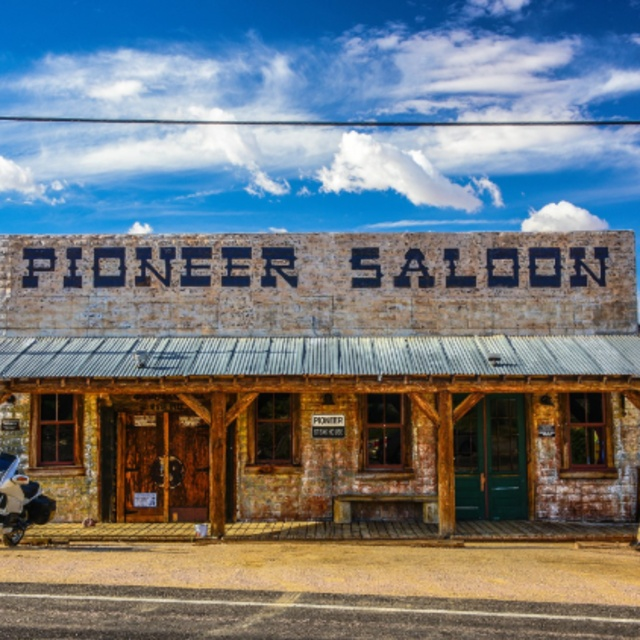 Visit a Haunted Saloon