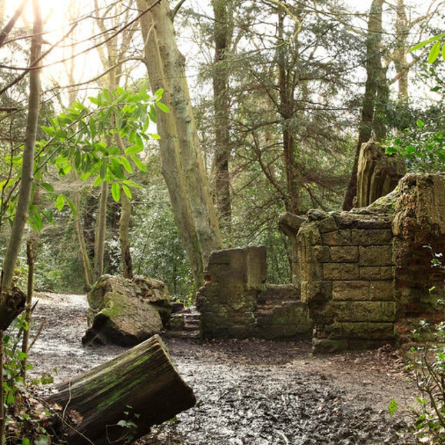 Ruined Victorian Folly