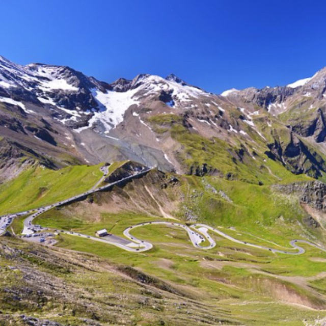Grossglockner Alpine Road from Bruck to Heiligenblut