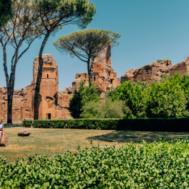 Explore the Ancient Thermal Baths at the Baths of Caracalla