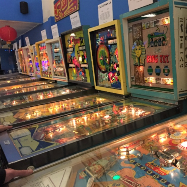 Seattle Pinball Museum in the International District
