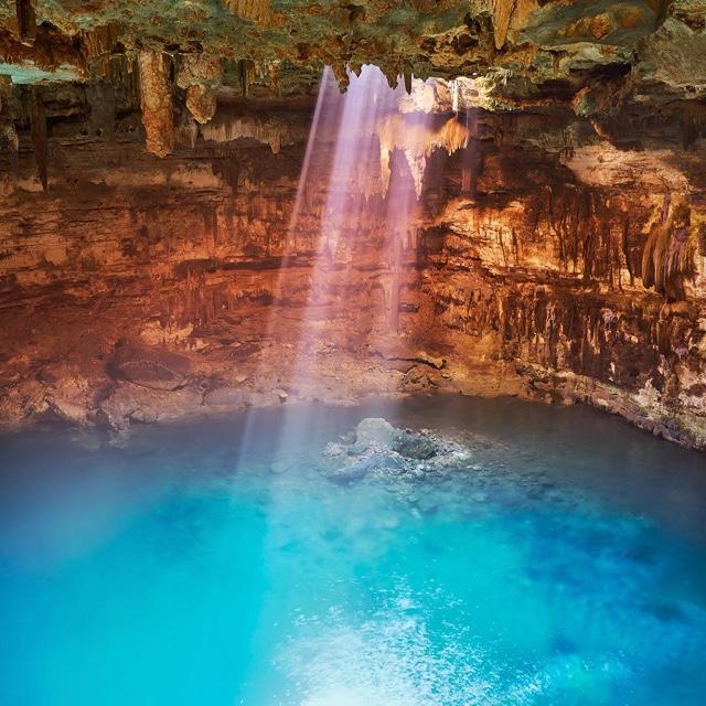 Swim in a Cenote
