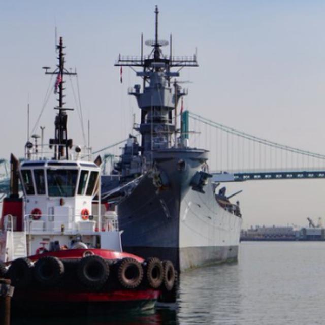 Battleship Iowa Museum at the Port of Los Angeles