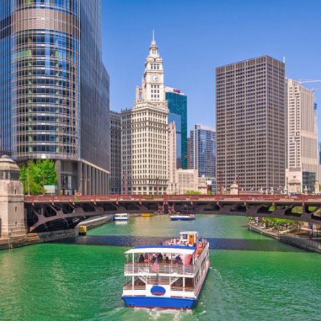 Sightseeing Cruise through Downtown Chicago
