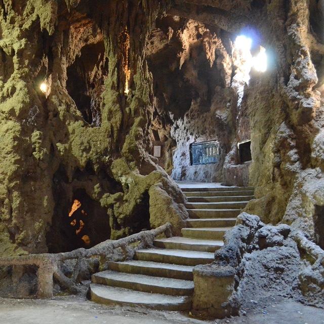 The Aquarium Grotto Garden