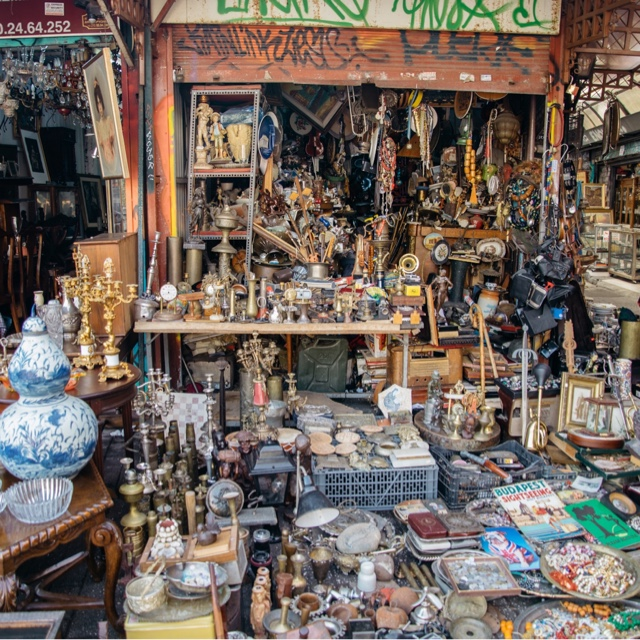 Hunt for Treasures at the Gypsy Market