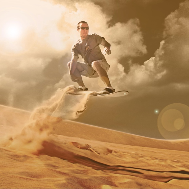 Go Sand boarding
