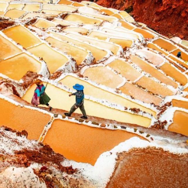 Maras Hillside Salt Evaporation Ponds