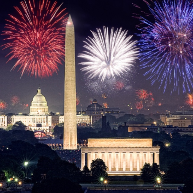 Celebrate the 4th of July in Washington D.C.