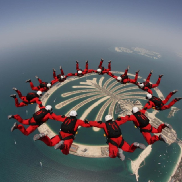 Skydive Over Palm Islands