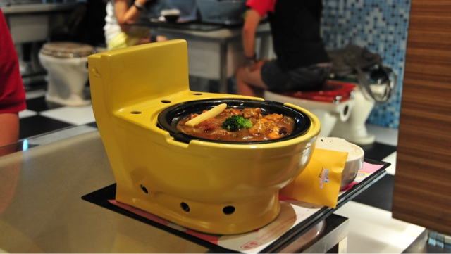 Eat at Modern Toilet Restaurant