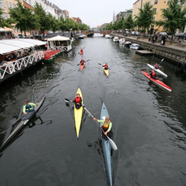 Kayak the Canals of Copenhagen