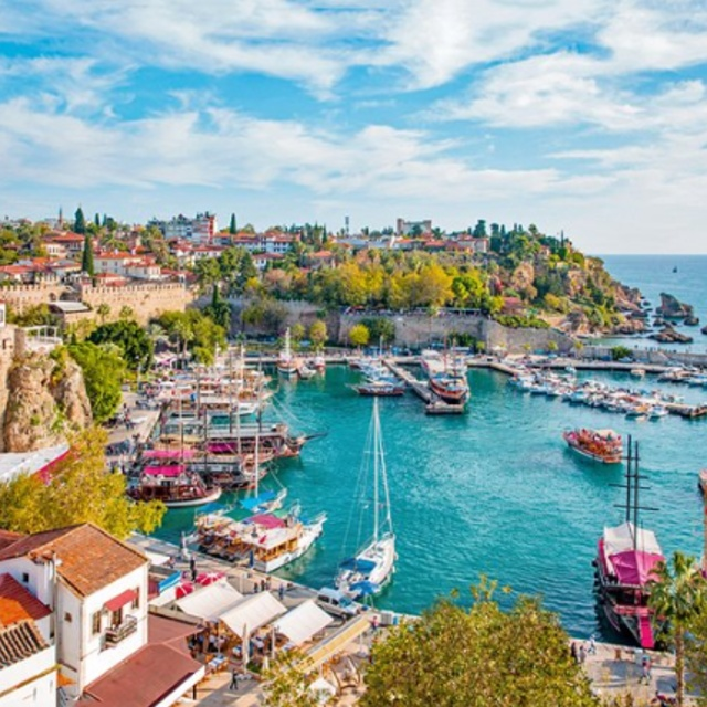 Explore Old Town in Antalya