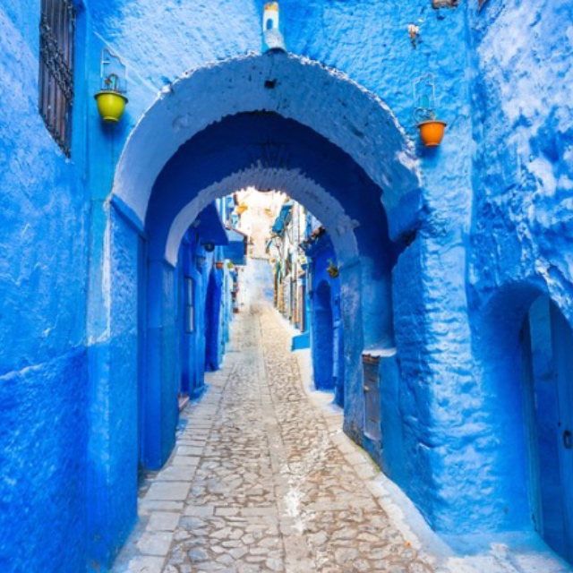 The Blue Village of Chefchaouen