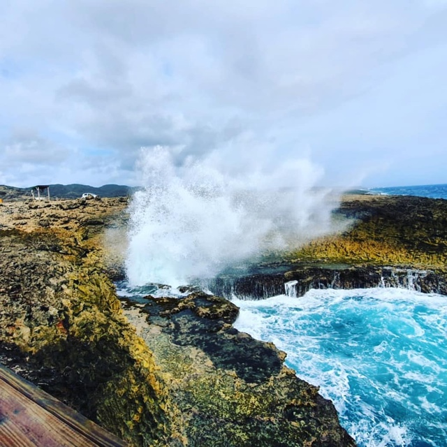 Watch the Waves Crash at Shete Boka National Park
