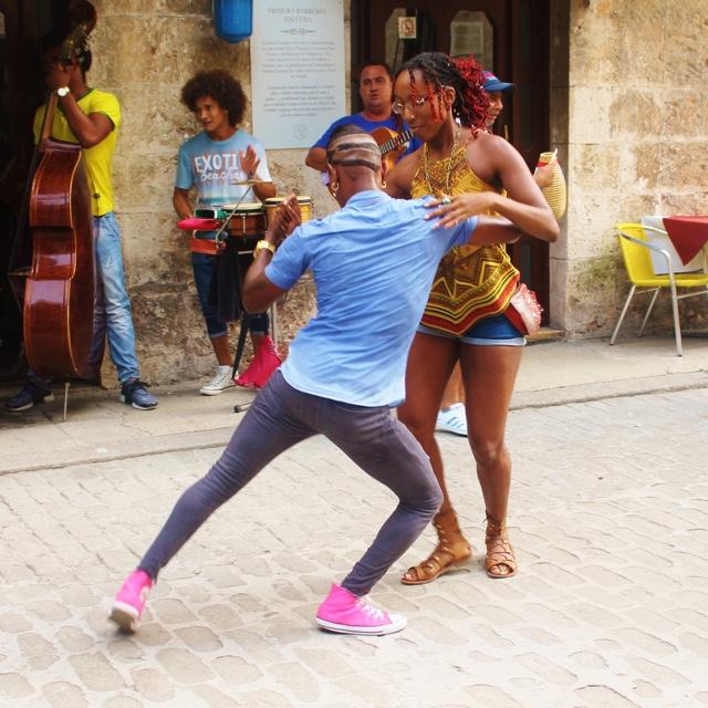 Salsa Dancing in Havana