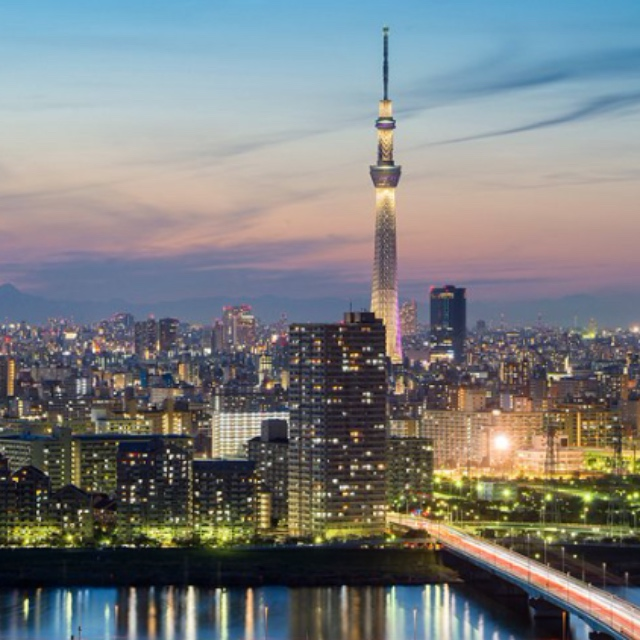 City Views from Tokyo Skytree