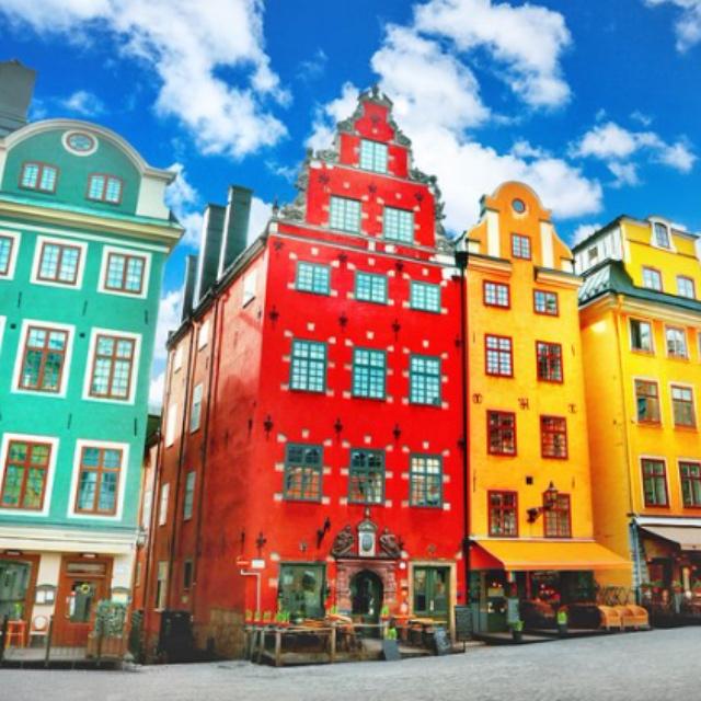 Explore Old Town Stockholm at Gamla Stan