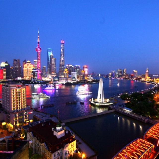 Evening Boat Cruise on the Huangpu River