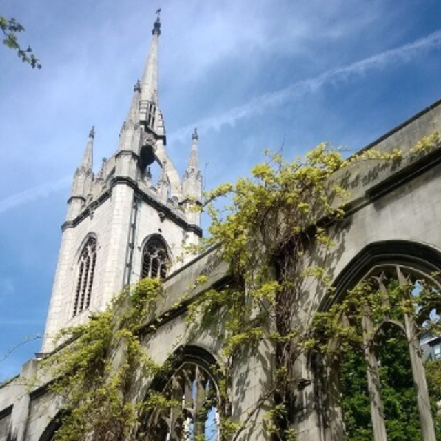 The Ruins of St. Dunstan in the East