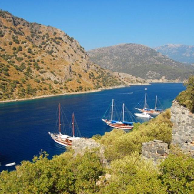 Cruise the Mediterranean on a Fethiye Yacht Trip