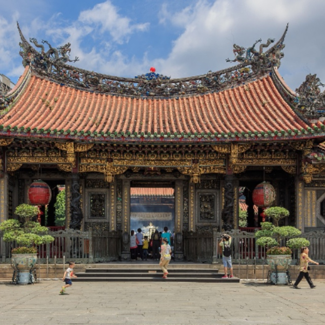 Long Shan Temple in Taipei