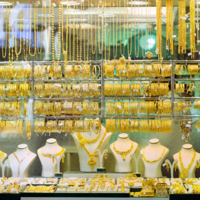 Deira Gold Souk the Largest Gold Bazaar in the World