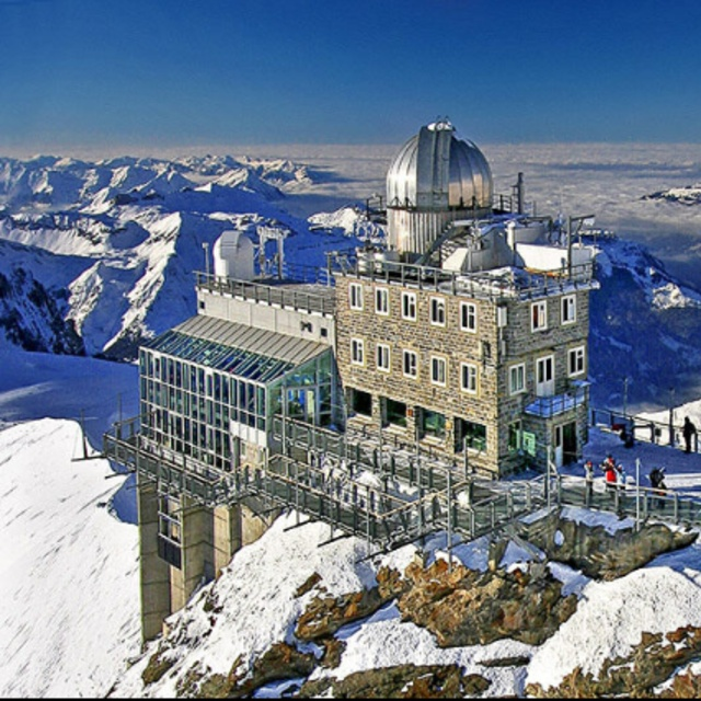 Sphinx Observatory in Grindelwald