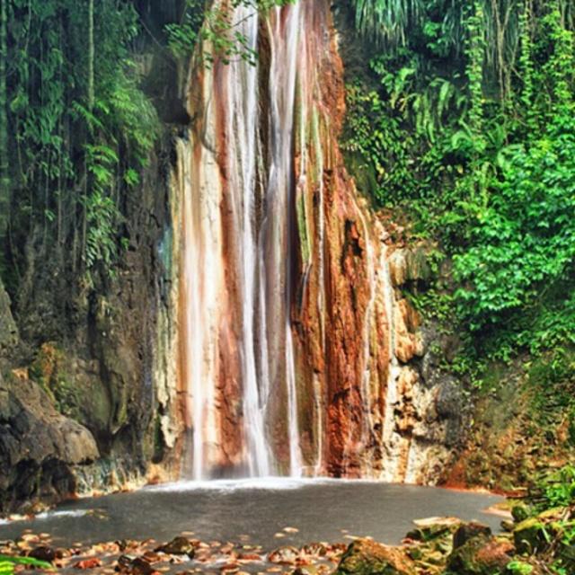 Diamond Falls Botanical Gardens and Waterfall