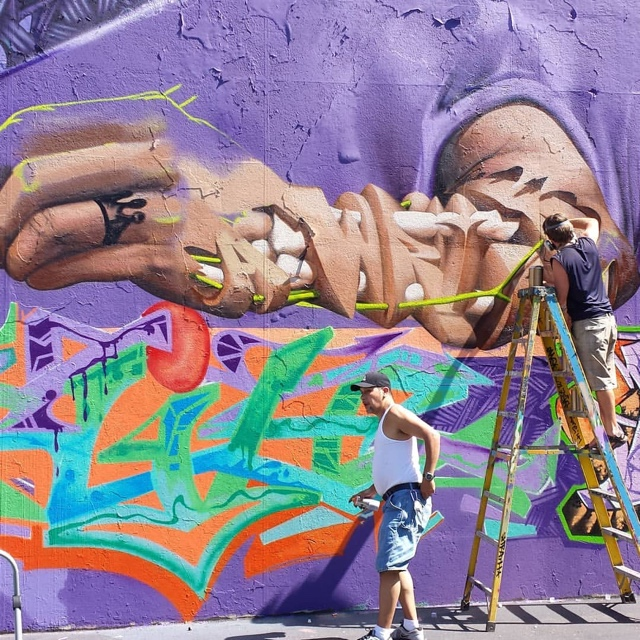 See the Graffiti Hall of Fame