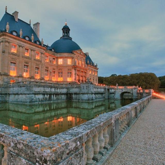 Candlelit Evening at Chateau Vaux le Vicomte
