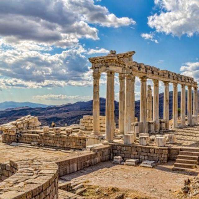 Pergamum the Greco Roman Ruins