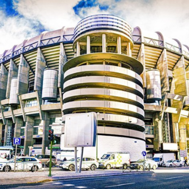 Watch a Soccer Game at Real Madrid's Stadium