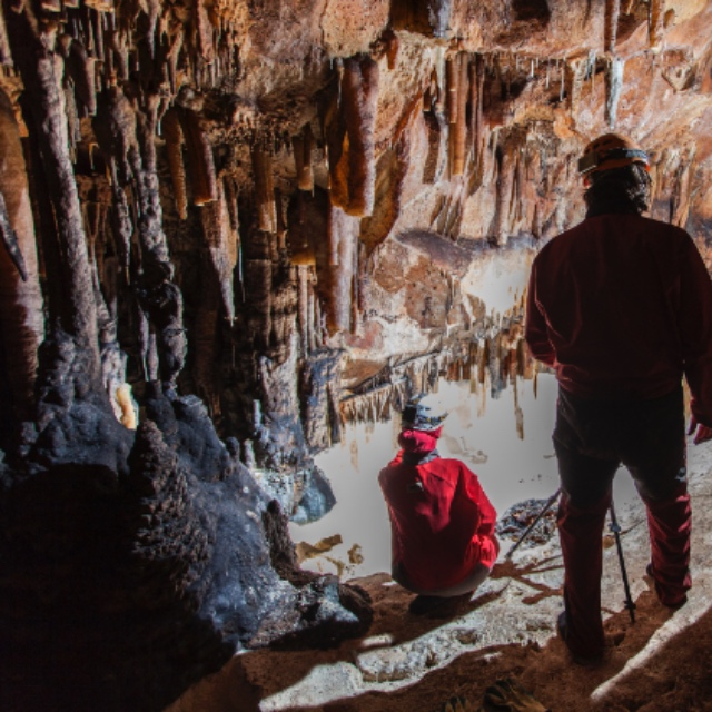 Caving in Madrid National Park