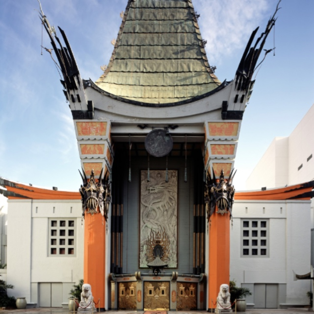 Celebrity Handprints and Footprints at Grauman's Chinese Theater