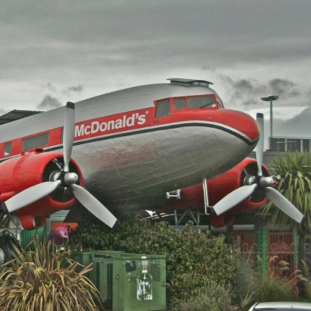 Taupo McDonald's Airplane