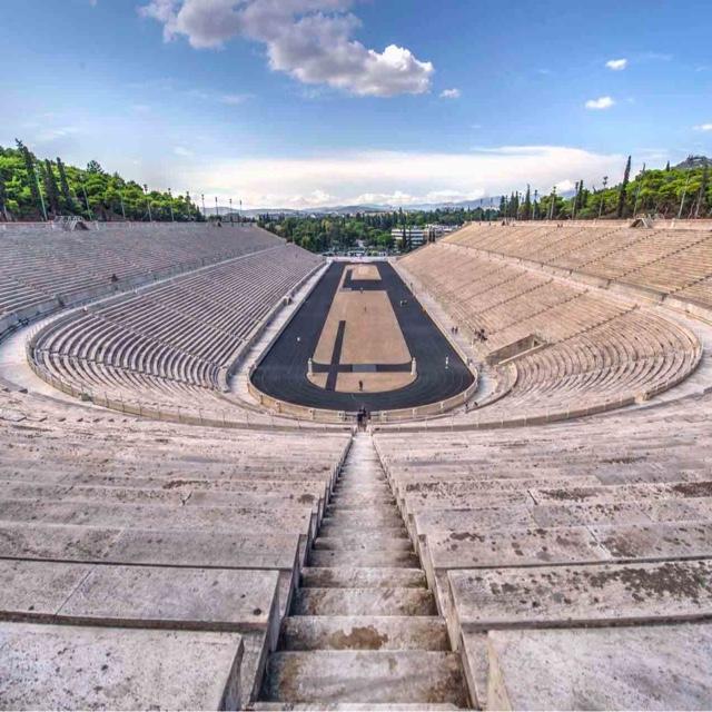 Run in the Original Olympic Coliseum