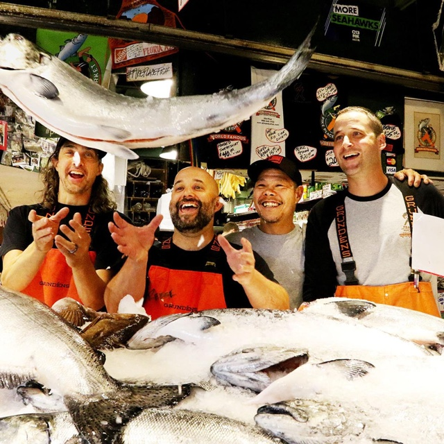 Visit Pikes Place Fish Market