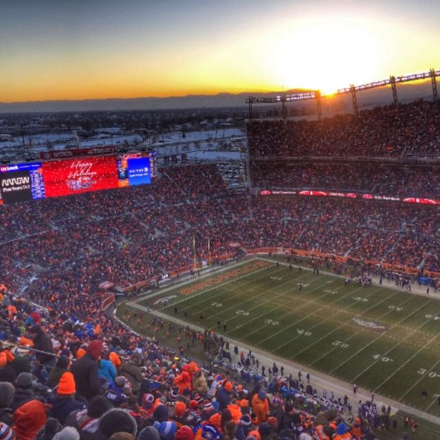 Watch a Denver Broncos Football Game at Mile High Stadium