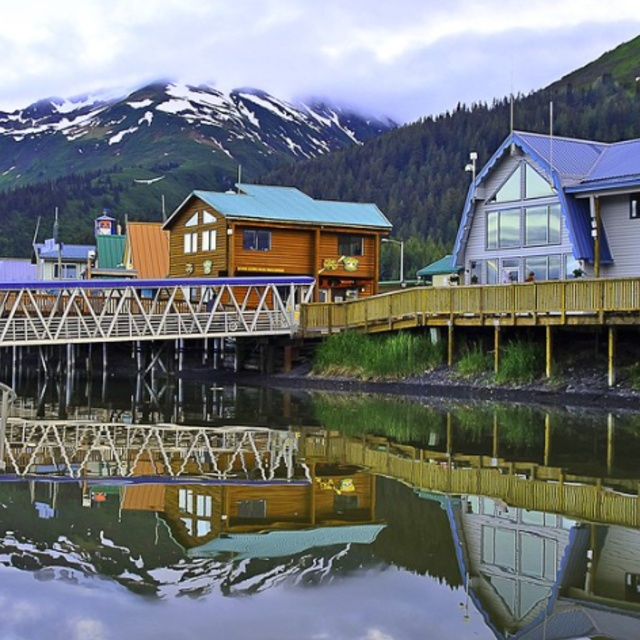 Ride the Scenic Alaska Railroad from Seward to Fairbanks
