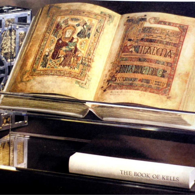 See the Book of Kells at Trinity College
