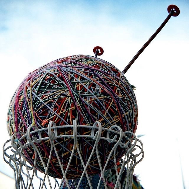 See the Worlds Largest Ball of Yarn