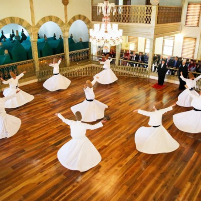 Watch a Whirling Dervish Ceremony