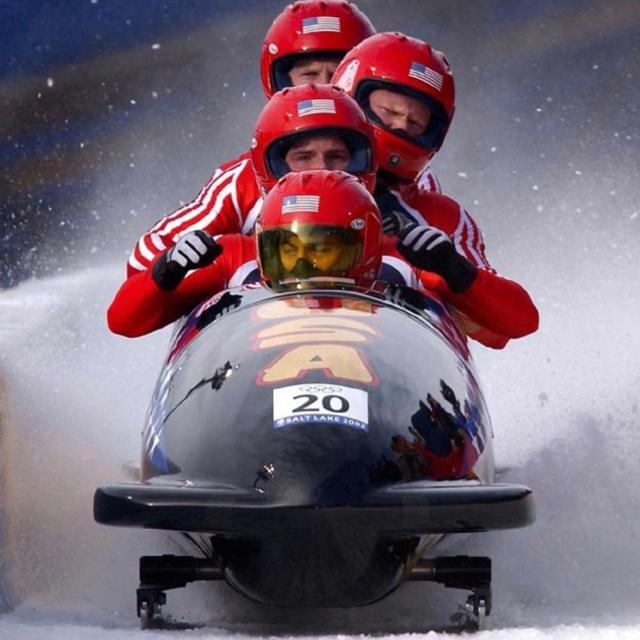 Ride in a Bobsled at the 2002 Olympic Park