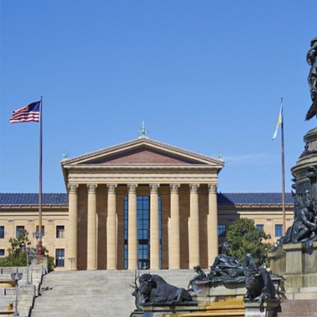 """Philadelphia Museum of Art and the """"Rocky Steps"""""""