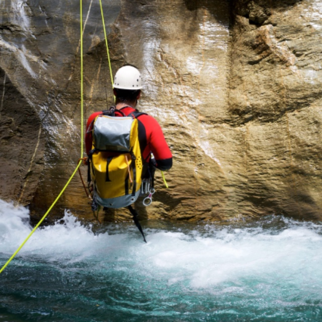Repelling in the Canyons of Cuenca