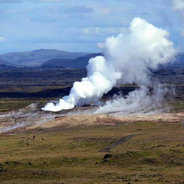 Icelands Largest Geothermal Mud Pool
